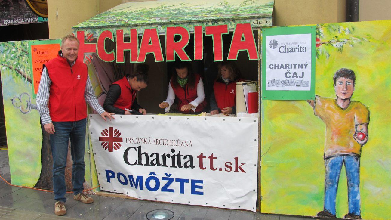 Charita na Trnavskom jarmoku