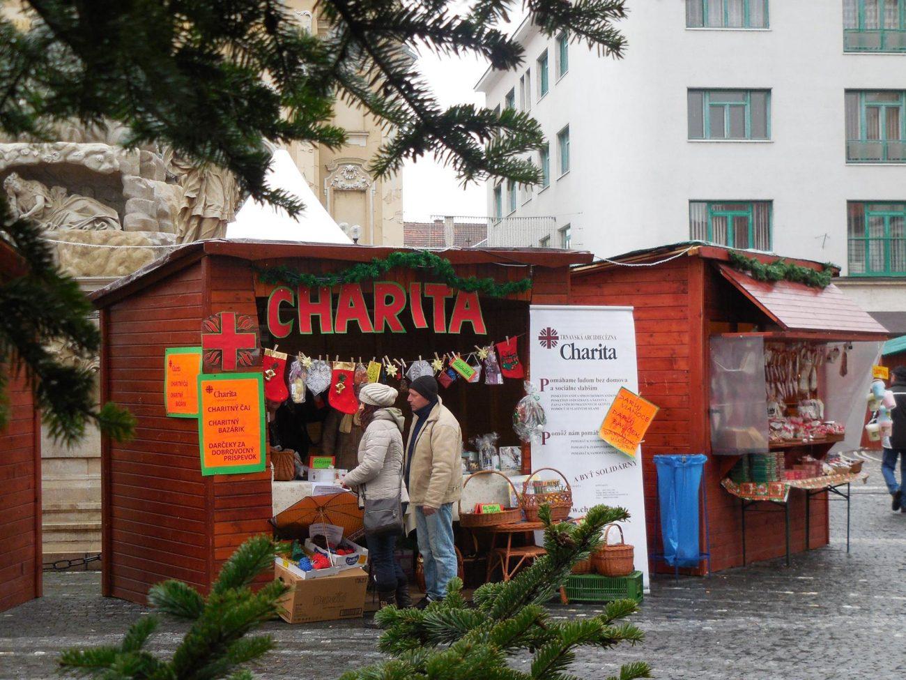 Charita na Vianočných trhoch