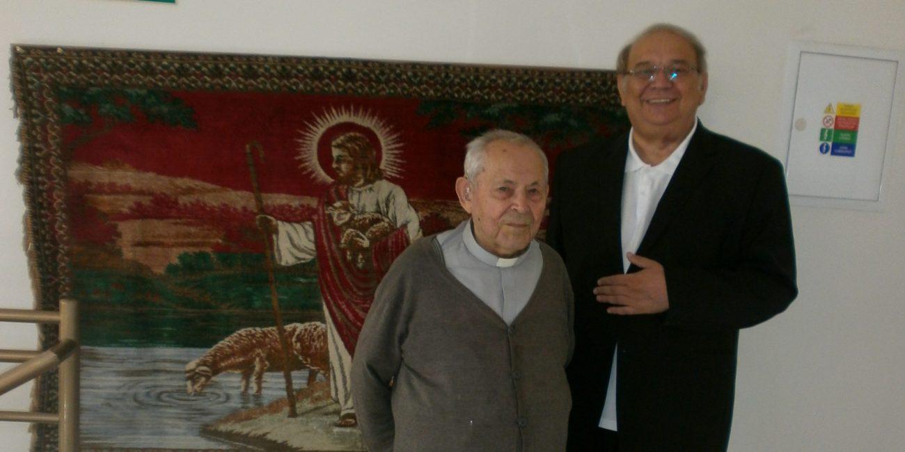 Návšteva arcibiskupa a oslava narodenín