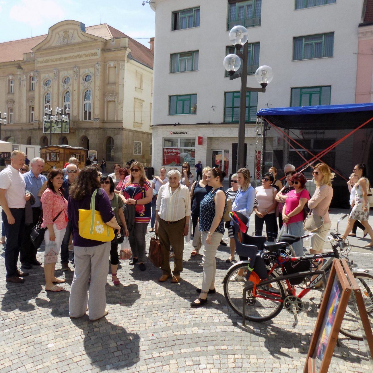 Predstavili sme Trnavu, partnerské mesto projektu