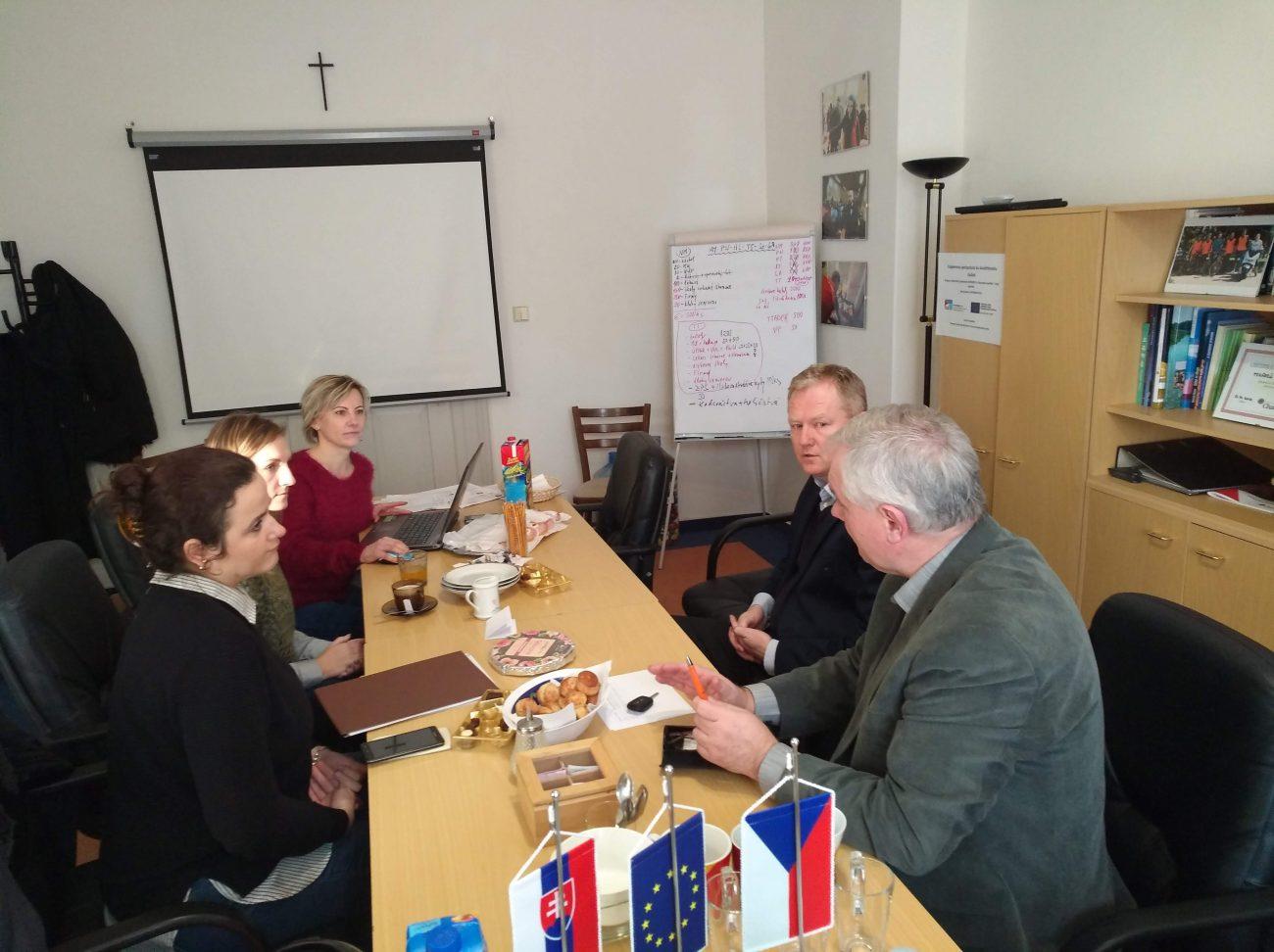 Stretnutie projektového tímu
