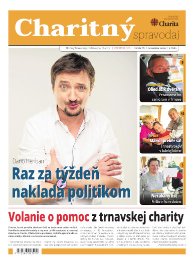 posledné číslo magazínu Charita.